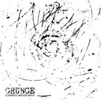 Grunge scratch elements background and texture. vector
