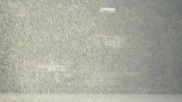 Rain raining hard downpour on a stormy day on Lake Como, Italy, Europe. video