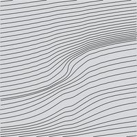 Abstract Curvy Wavy Streamlines Line Art Background Texture vector