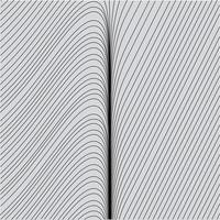 Abstract Curvy Wavy Streamlines Line Art Background Texture Free Vector