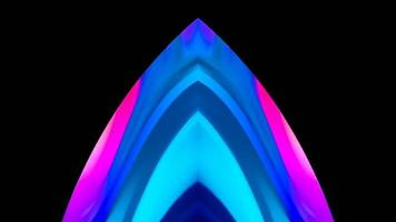 Abstract Seamless Geometric Color Flowing video
