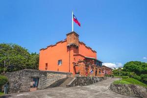 Fuerte Santo Domingo en Tamsui, Taipei, Taiwán foto