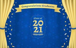 Graduation Photobooth Background vector