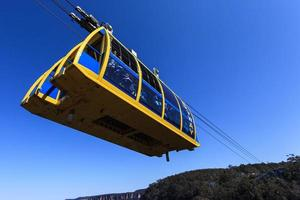 New South Wales, Australia, 2021 - Gondola over Three Sisters Lookout photo