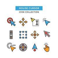 Mouse Cursor Icon vector
