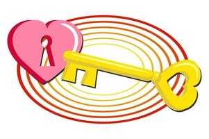 Key to your Heart vector