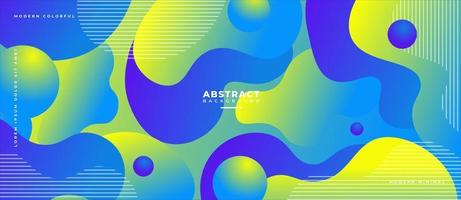 3D Fluid Wave Slice Shape and Sphere Abstract Liquid Background. vector
