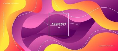 3D Layered Shape and Line Liquid Wave Shape Abstract Liquid Background. vector