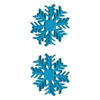 Snowflake Illustrated In Vector