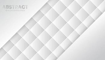 Geometric White Abstract Background vector