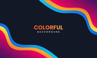 Colorful Background With Bright Glitters vector
