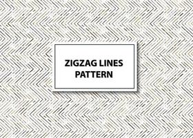 Seamless zig zag lines pattern vector