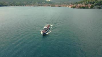 Ferry Boat in the Garda Lake video