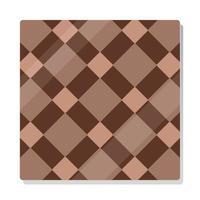 brown old brick wall with shadows vector