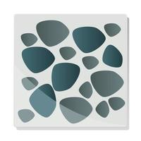 stones pavement texture background template vector