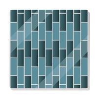 brick pavement shadow seamless pattern vector