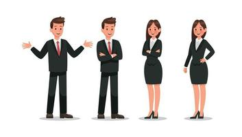 Business character design. no3 vector