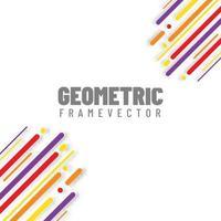 Beautiful circular geometry vector