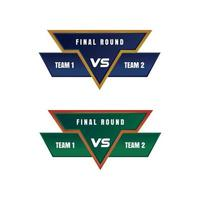score board vector illustration for game and sport