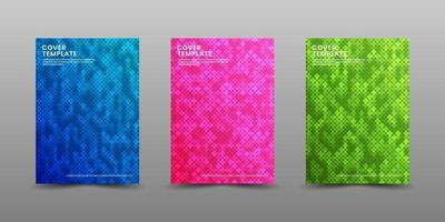 Minimal covers design. Modern background with abstract texture for use element poster, placard, catalog, banner, flyer, etc. Multicolor random squares with overlap layer style. Future geometric patterns. vector