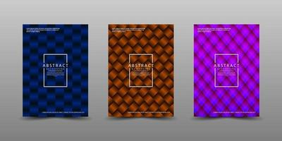 Minimal covers design. Modern background with abstract texture for use element poster, placard, catalog, banner, flyer, etc. 3D dark shapes with overlap layer style. Future geometric patterns. vector