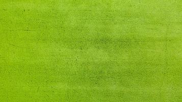Vista aérea superior del campo de arroz verde desde arriba foto