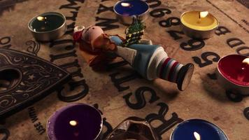 Hexerei spirituelles Spiel Ouija Board video