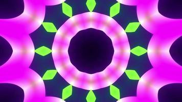 Multicolored optical visualization movement equalizer rainbow neon light video