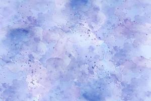 Abstract blue watercolor paint spalsh vector background