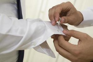 wedding cuff wedding time photo