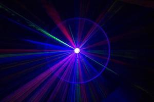 laser beams efx style photo