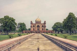 Safdarjung's Tomb in New delhi, India photo