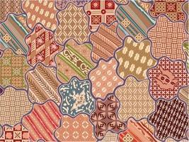 Indonesian Batik Of Sekar Jagad vector
