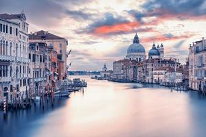 The city of Venice in the morning, Italy photo