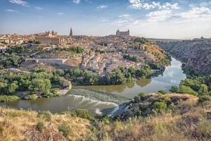 Toledo city in the daytime, Spain photo