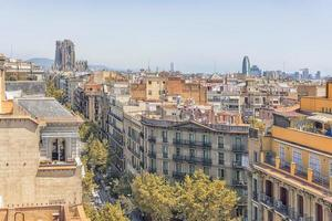 Basilica de la Sagrada Familia in Barcelona, Spain photo