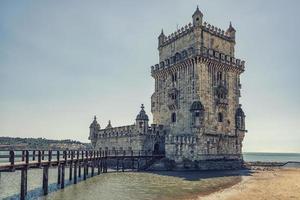 Belem Tower in Lisbon photo