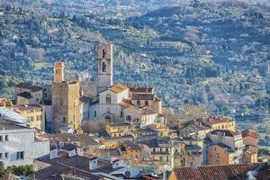 The city of Grasse on the French Riviera photo