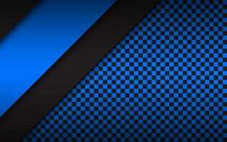Black and blue modern material design, corporate template for your business, vector abstract widescreen background