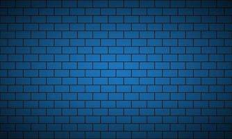 Modern blue brick pattern. Seamless tile pattern. Simple vector illustration