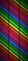 Modern rainbow colored cellphone background. Colorful lines on black background. Vector illustration for your presentation