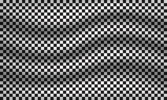 Black and white background of squares, simple monochrome mosaic template for your design vector