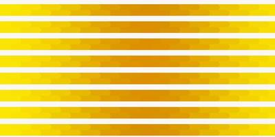 Dark Yellow vector pattern with lines Gradient abstract design in simple style with sharp lines Smart design for your promotions