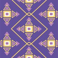 ethnic handmade, folklore fabric trendy motif background vector