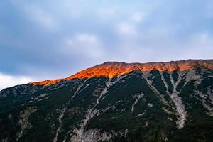 Landscape with mountains in Bulgaria photo
