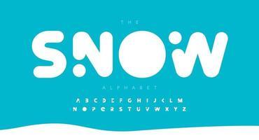 Round bold alphabet letter font. Modern logo typography. Heavy and fat vector typographic design. Soft round corner type for logo, headline, title, monogram, lettering, branding, apparel, merchandise