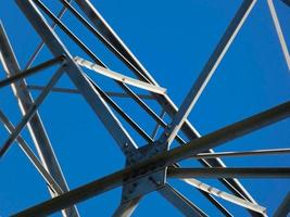 Metal High-voltage tower photo
