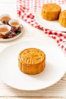 pastel de luna chino para el festival chino del medio otoño foto