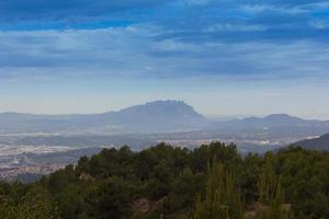 general view of the Mountain of Montserrat photo