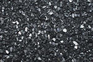Black broken glass abstract texture photo